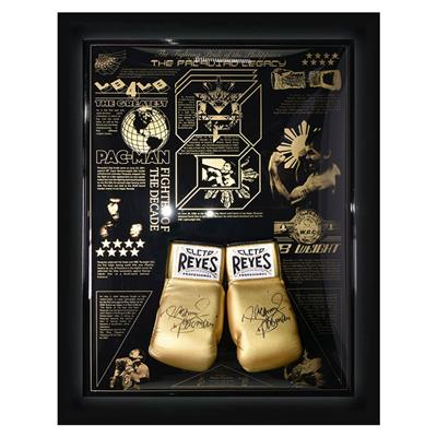 Signed Manny Pacquiao Boxing Gloves