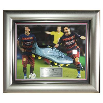 Signed Lionel Messi Boot