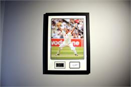 Darren Gough Signed Photo - Framed Display
