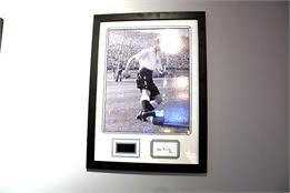 Sir Tom Finney Signed Photo - Framed Display