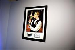Stephen Hendry Signed Photo - Framed Display