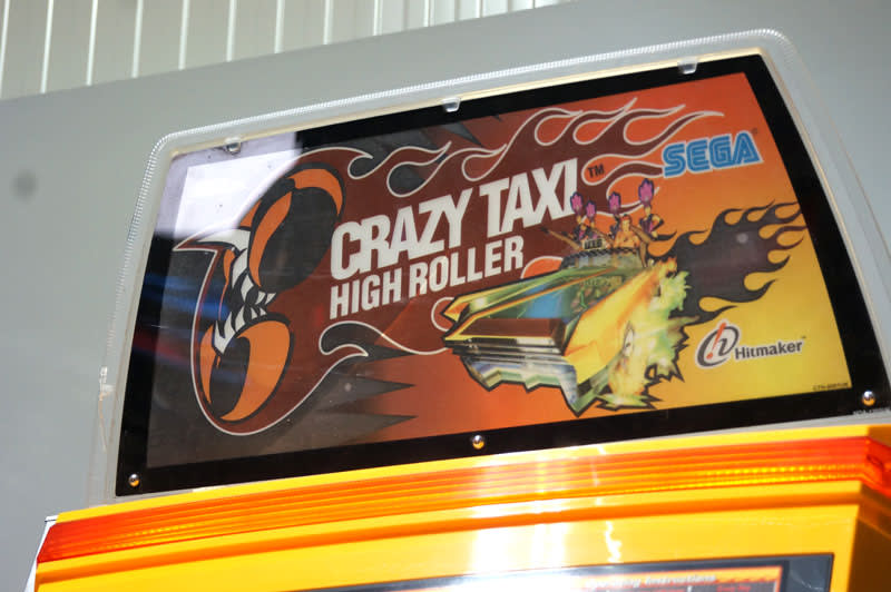 Crazy taxi marquee