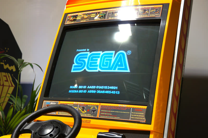 Crazy Taxi: High Roller Arcade Machine - Screen