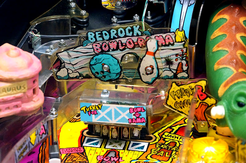 The Flintstones Pinball Machine - Bowl-O-Rama
