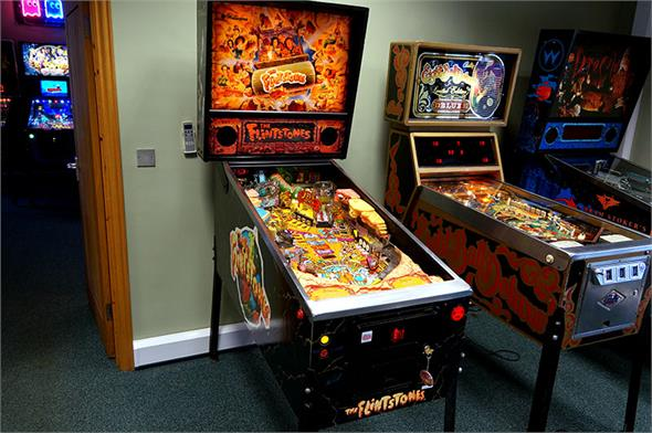 The Flintstones Pinball Machine