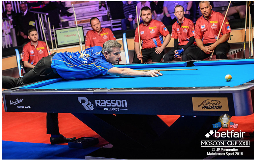Rasson Victory II Pool Table - Mosconi Cup