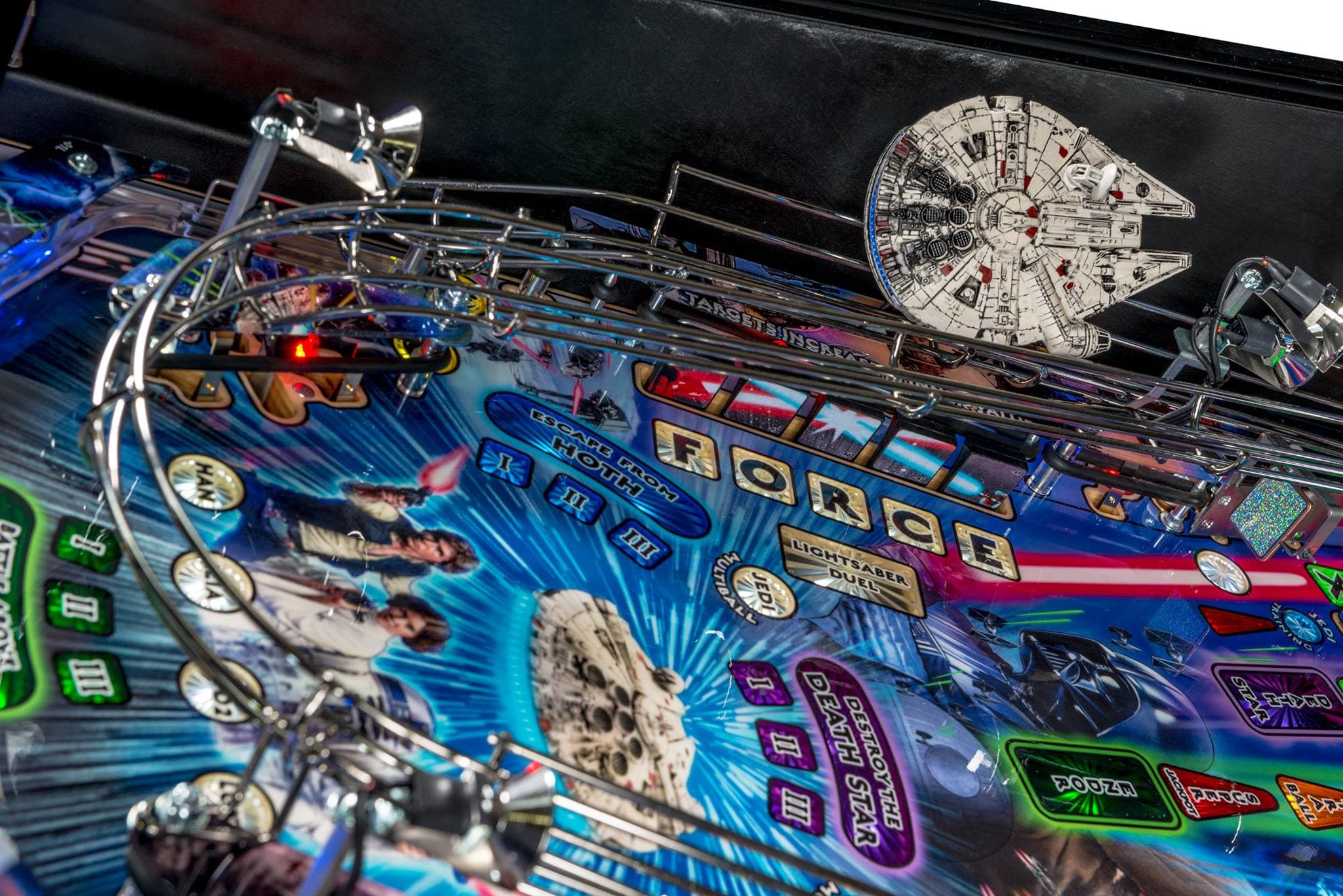 Star Wars Pinball Machine >> Star Wars Pinball Machine For Sale Uk Premium Version