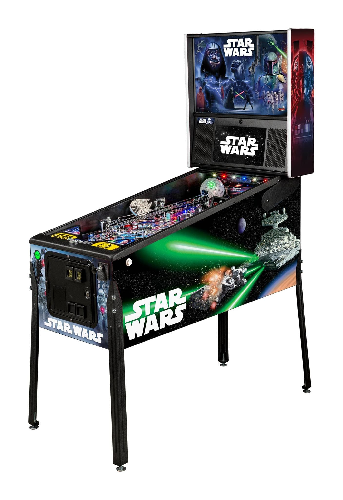 An image of Star Wars Premium Pinball Machine