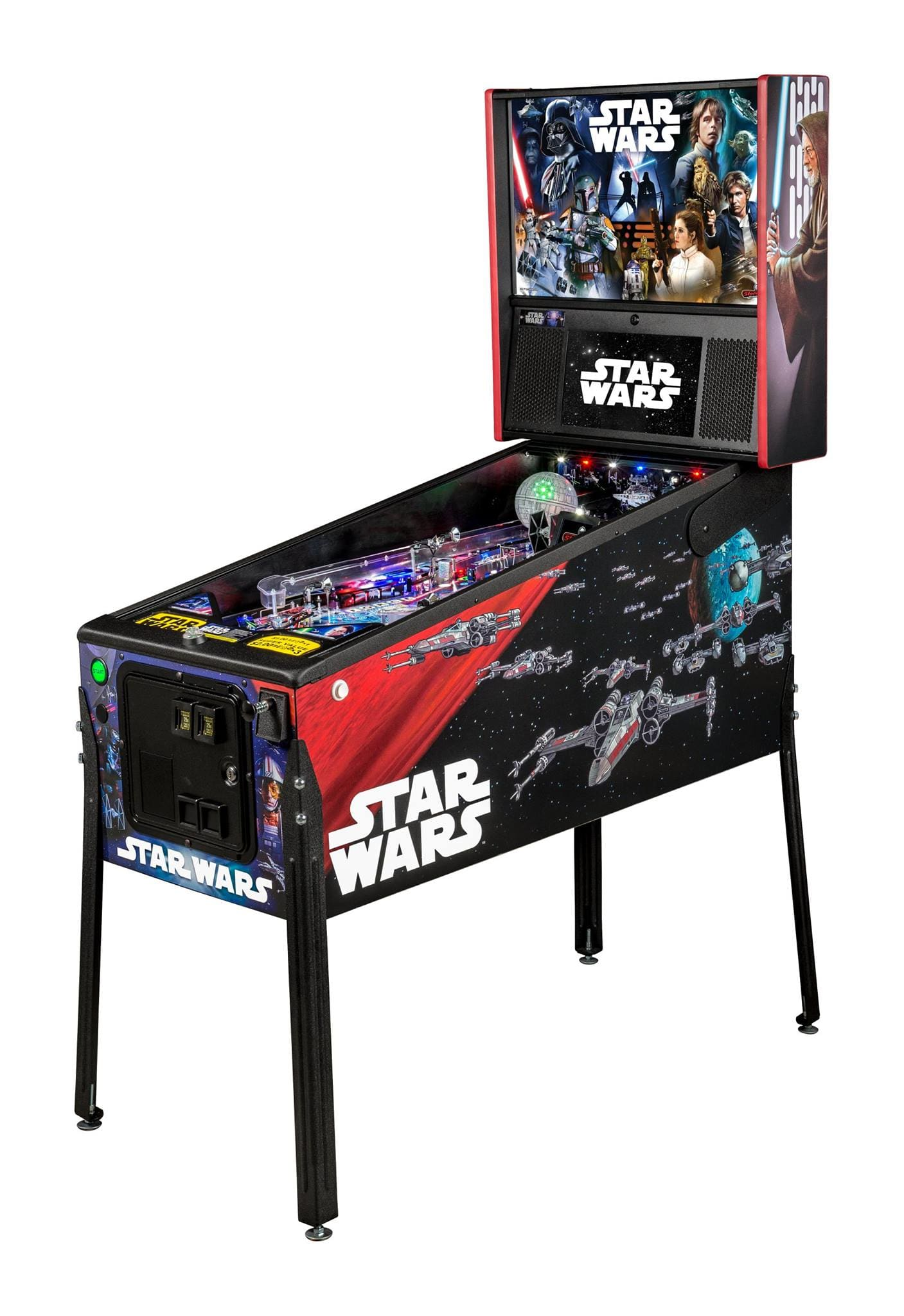 Star Wars Pro Pinball Machine: Overview
