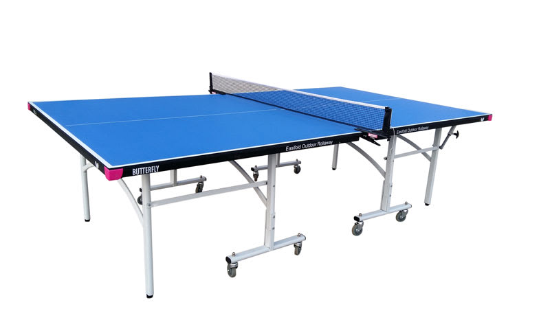 1300528BL Butterfly Easifold Outdoor Table Tennis Table - Blue