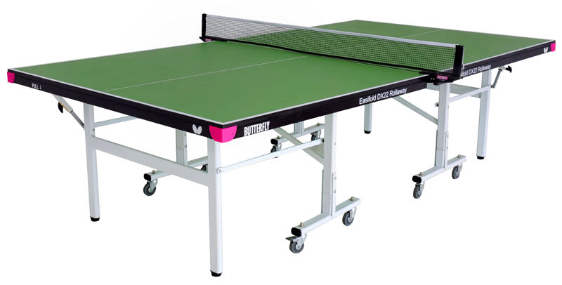 An image of Butterfly Easifold DX 22 Indoor Table Tennis Table - Green.