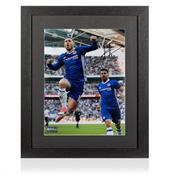 Signed Eden Hazard Chelsea Photo: Goal vs Tottenham Hotspur