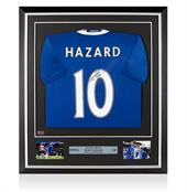 Signed Eden Hazard Shirt Back