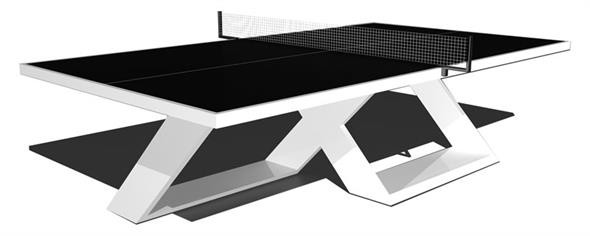 King Pong Ultimate Glass Table Tennis Table