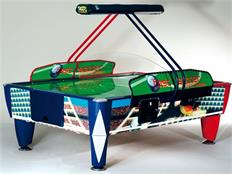 Sam Double Soccer Fast Track Air Hockey - 8.5ft
