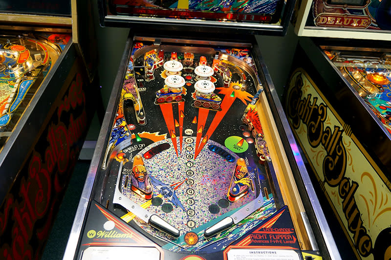 Firepower Pinball Machine - Playfield