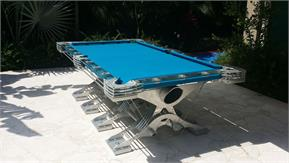 Hurricane Predator Supernatural Outdoor Pool Table