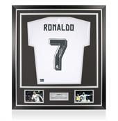 Signed Cristiano Ronaldo Real Madrid Shirt