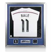 Signed Gareth Bale Real Madrid Shirt