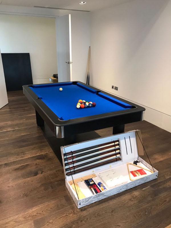 Longoni Fire Pool Table - 7ft, 8ft