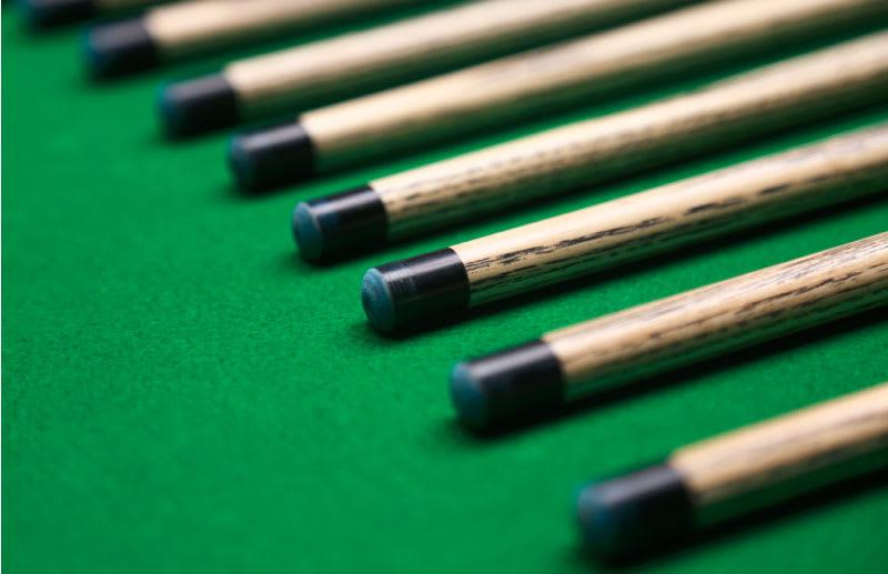 Gareth Potts Chinese 8 Ball Pool Cue