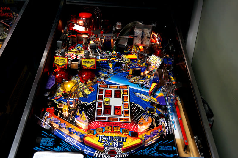 The Twilight Zone Pinball Machine - Playfield