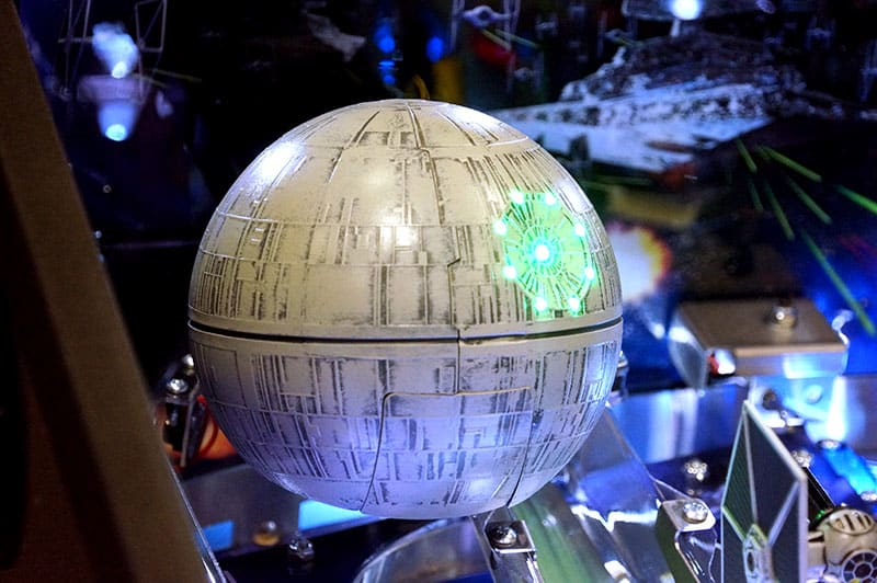 Star Wars Pro Pinball Machine - Death Star