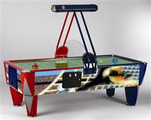 Sam Soccer Fast Track Air Hockey - 8ft