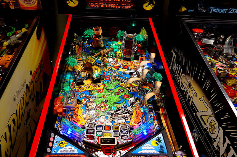 Jurassic Park Pinball Machine - Playfield