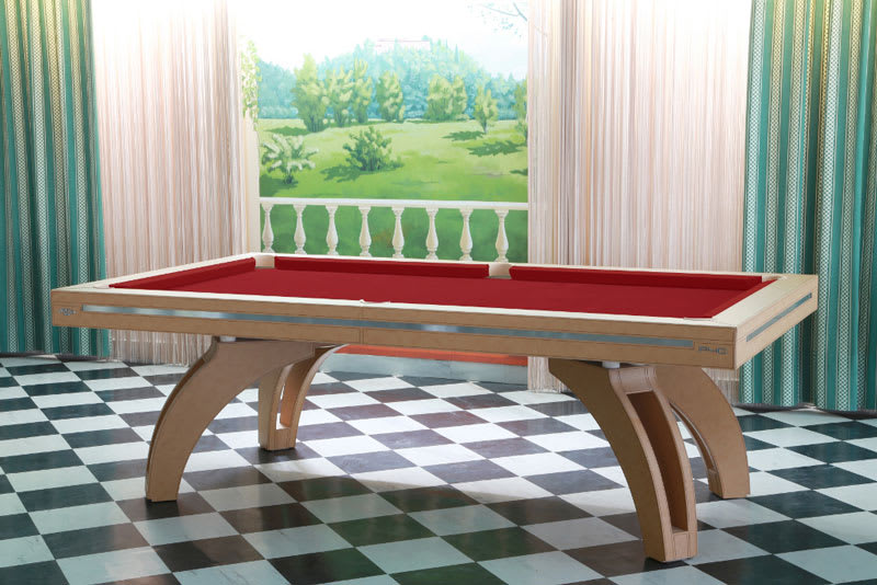An image of Etrusco P40 Real Leather Pool Table - 7ft, 8ft, 9ft, 10ft, 12ft