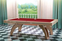 Etrusco Eco-Stitched Leather P40 Pool Table - 7ft, 8ft, 9ft, 10ft, 12ft