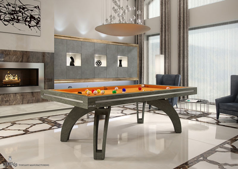 An image of Etrusco P40 Stone Pool Table - 7ft, 8ft, 9ft, 10ft, 12ft