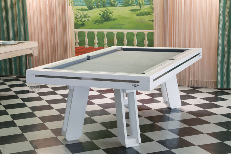 An image of Etrusco P40 Strike Pool Table: All Finishes - 7ft, 8ft, 9ft, 10ft, 12f