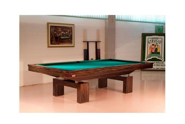 Etrusco Boccioni Pool Table - 7ft, 8ft, 9ft, 10ft, 12ft