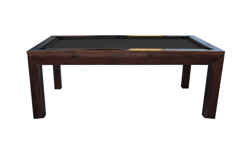 Signature Anderson Pool Dining Table   Walnut   Side And Top