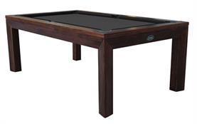 Signature Anderson Walnut Pool Dining Table: 7ft