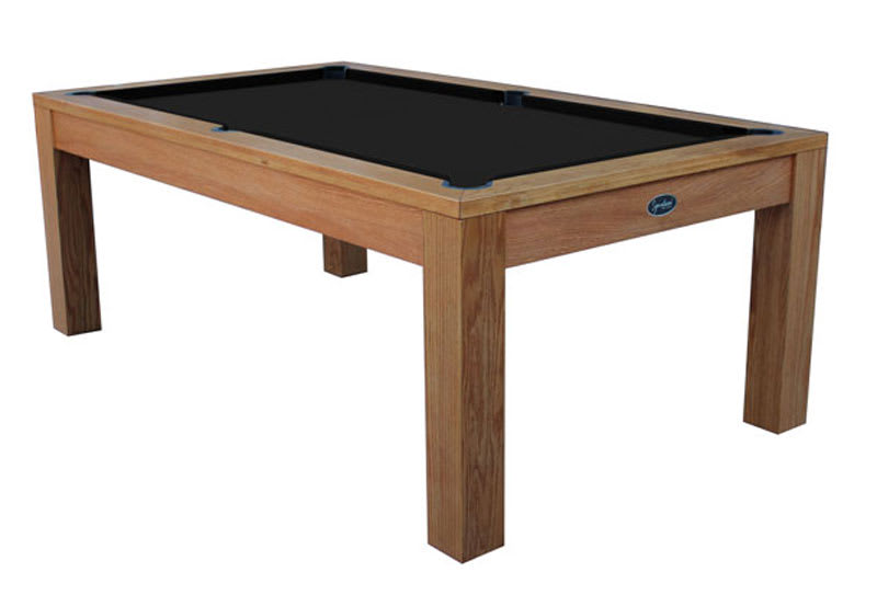Signature Chester Pool Dining Table - Oak