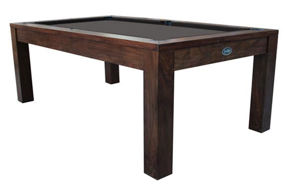 Signature Chester Walnut Pool Dining Table: 7ft