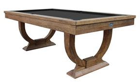Signature Huntsman Rustic Oak Pool Dining Table: 7ft