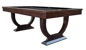 Signature Huntsman Walnut Pool Dining Table: 7ft