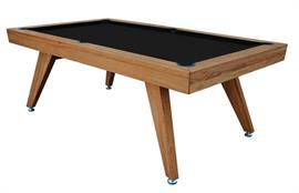 Signature Sexton Oak Pool Dining Table: 7ft