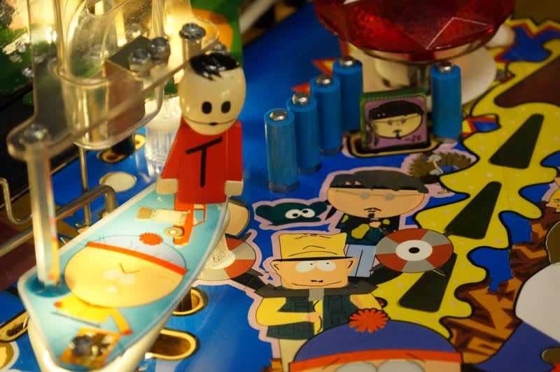 South Park Pinball Machine - Playfield Artwork