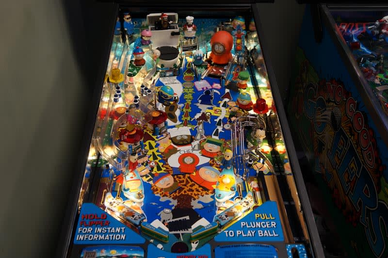 South Park Pinball Machine - Playfield
