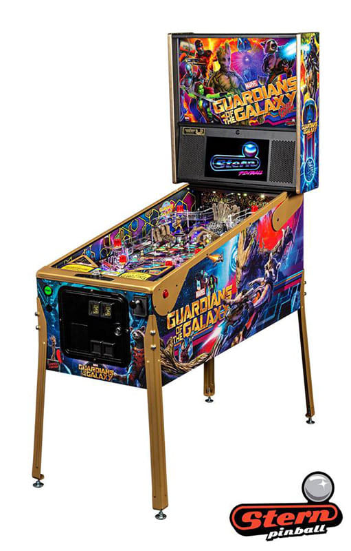 An image of Guardians of the Galaxy LE Pinball Machine