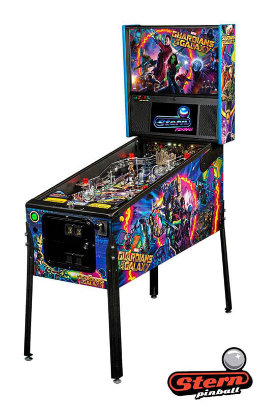 An image of Guardians of the Galaxy Pro Pinball Machine