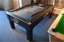 Jack Daniel's Winchester Pool Table - 6ft, 7ft - Black