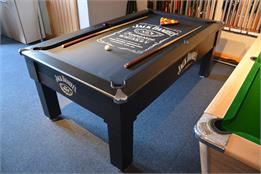 Jack Daniels Winchester Pool Table Ft Ft Black Free Delivery - Jack daniels pool table
