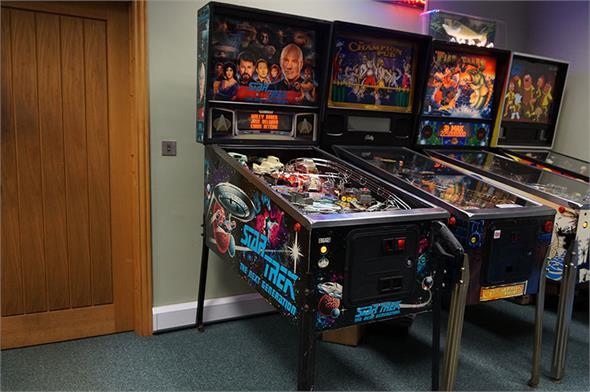 Star Trek Next Generation Pinball Machine