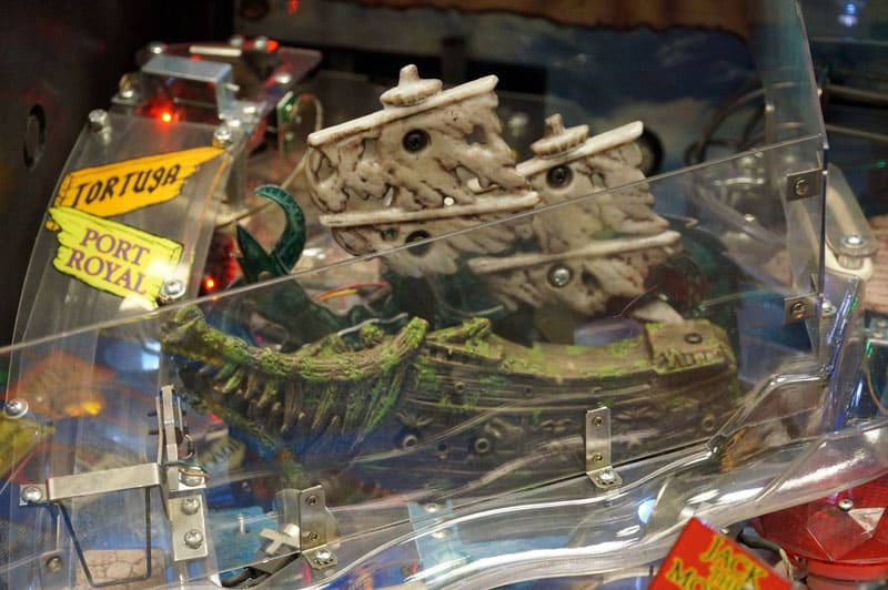 Pirates of the Caribbean Pinball Machine - Ship