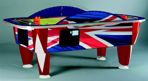 An image of Sam Leisure Yukon Union Jack Air Hockey - 8ft.